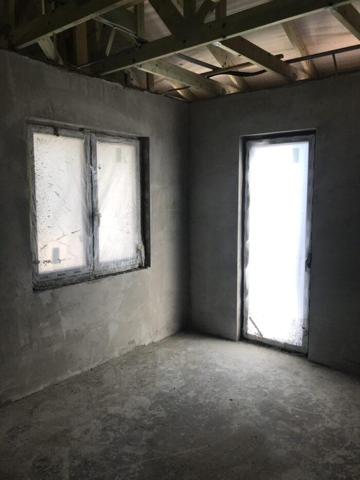 ház belső falainak vakolása referencia kép