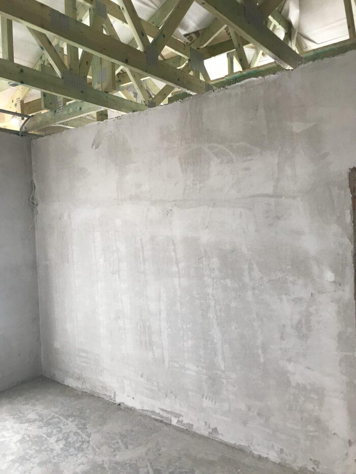belső fal vakolás referencia kép