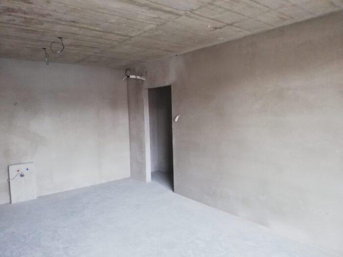 Víg ház vakolat belső munkálatok elkészült falazat
