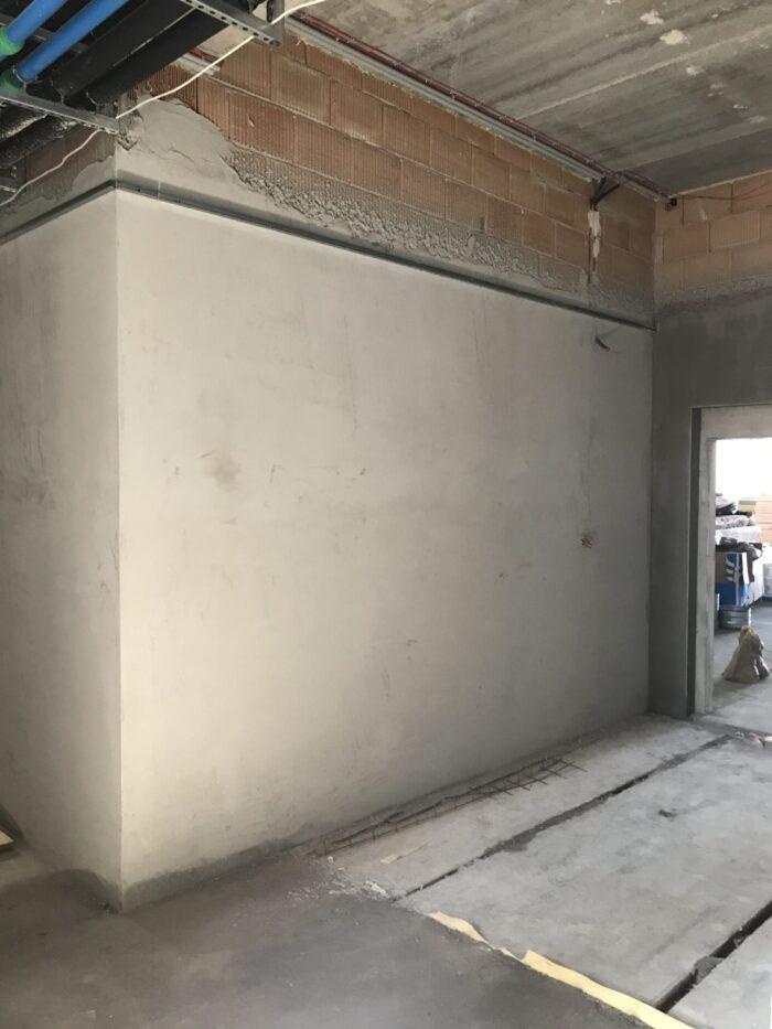 gépi vakolat belső falakra